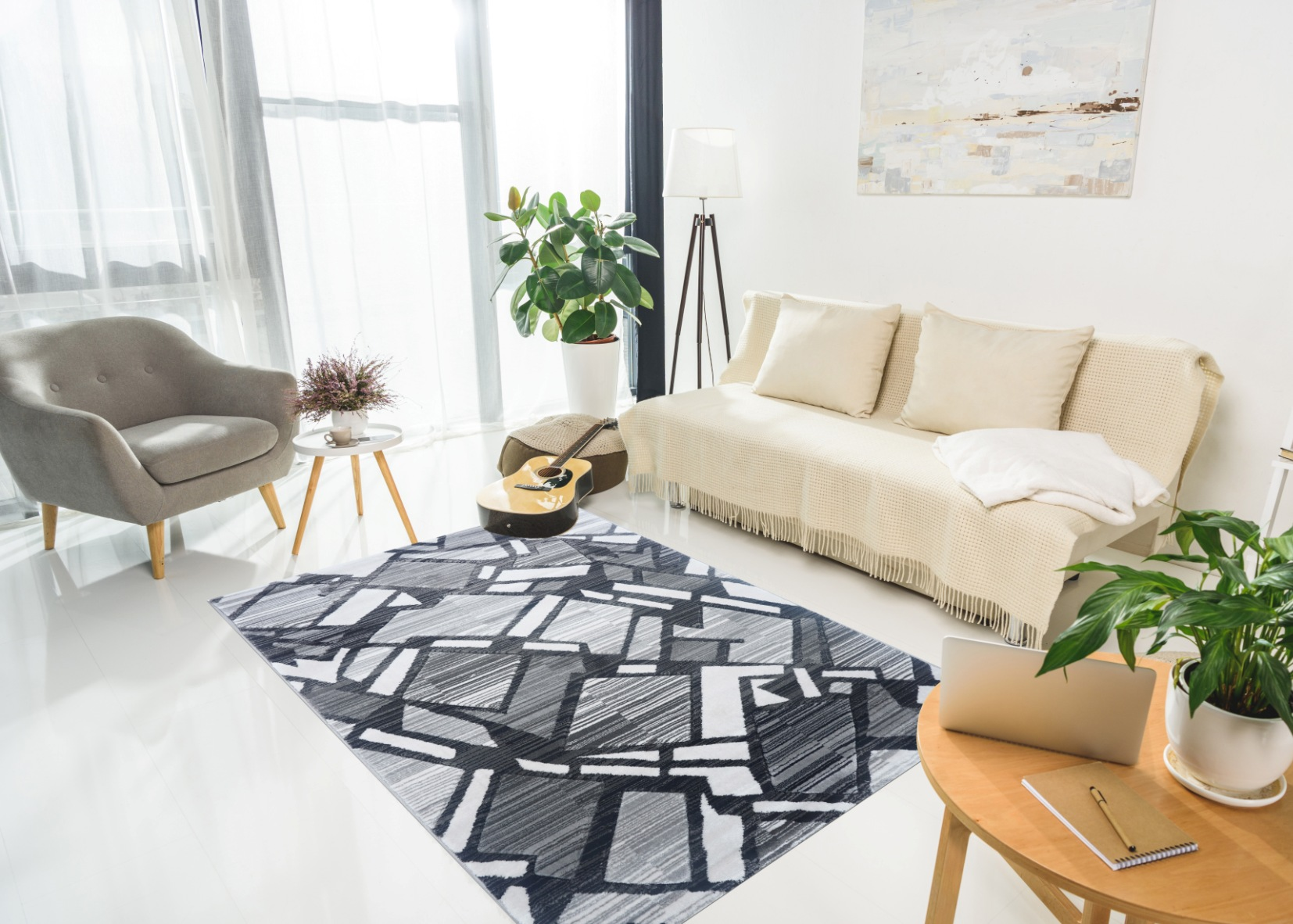 Tổng đại lý Thảm trang trí - Thảm sofa nhập khẩu - I0002