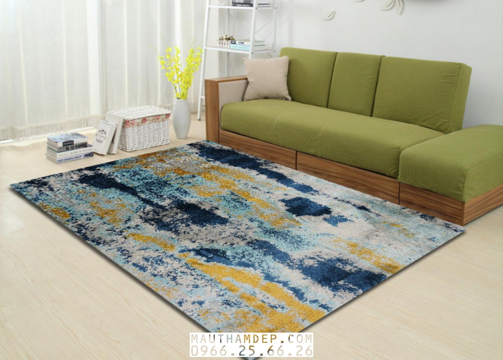 Tổng đại lý Thảm trang trí - Thảm sofa nhập khẩu - F0001