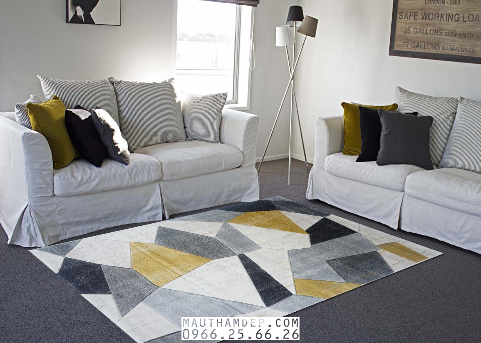 Tổng đại lý Thảm trang trí - Thảm sofa nhập khẩu - I0009