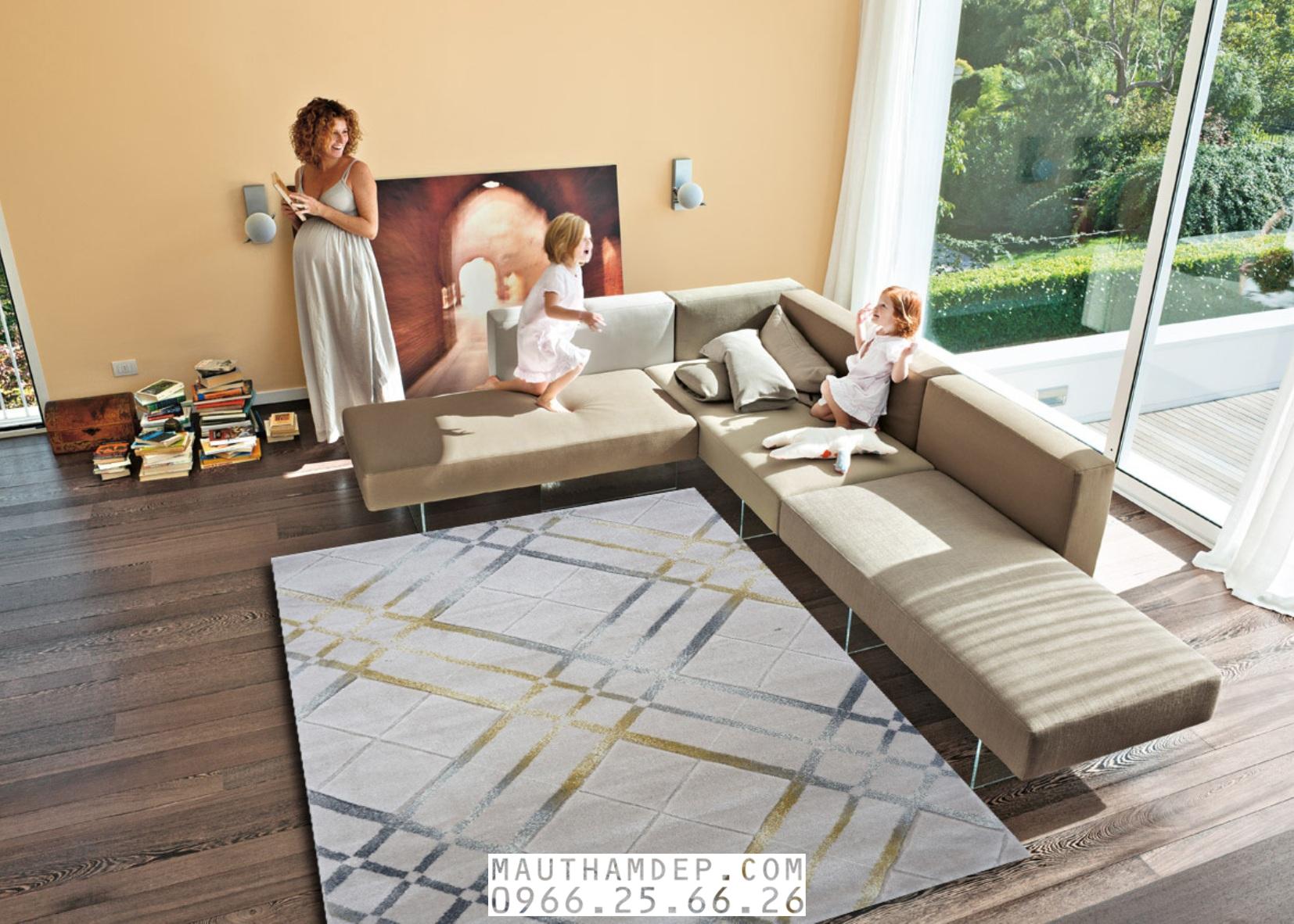 Tổng đại lý Thảm trang trí - Thảm sofa nhập khẩu - I0015