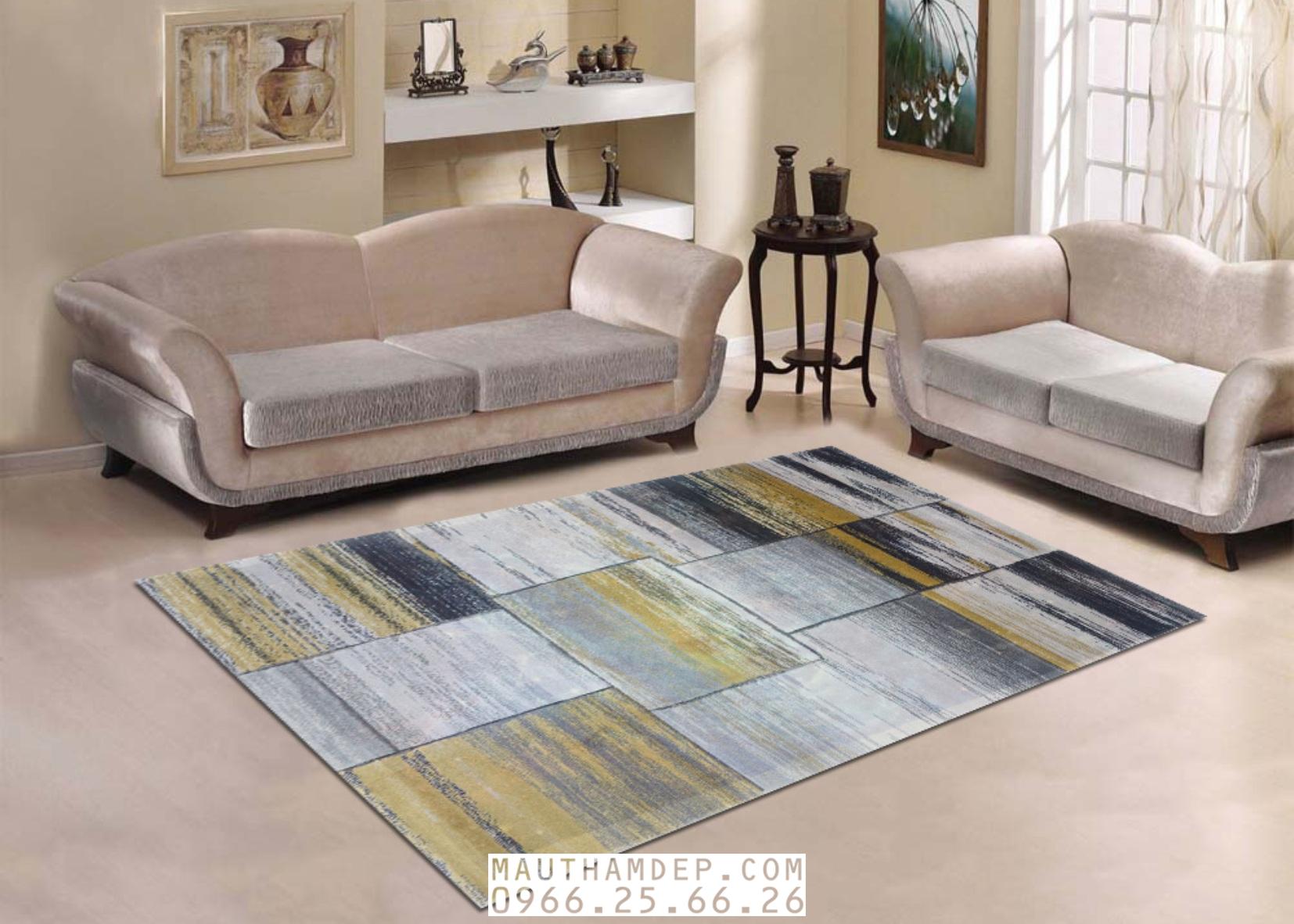 Tổng đại lý Thảm trang trí - Thảm sofa nhập khẩu - I0018