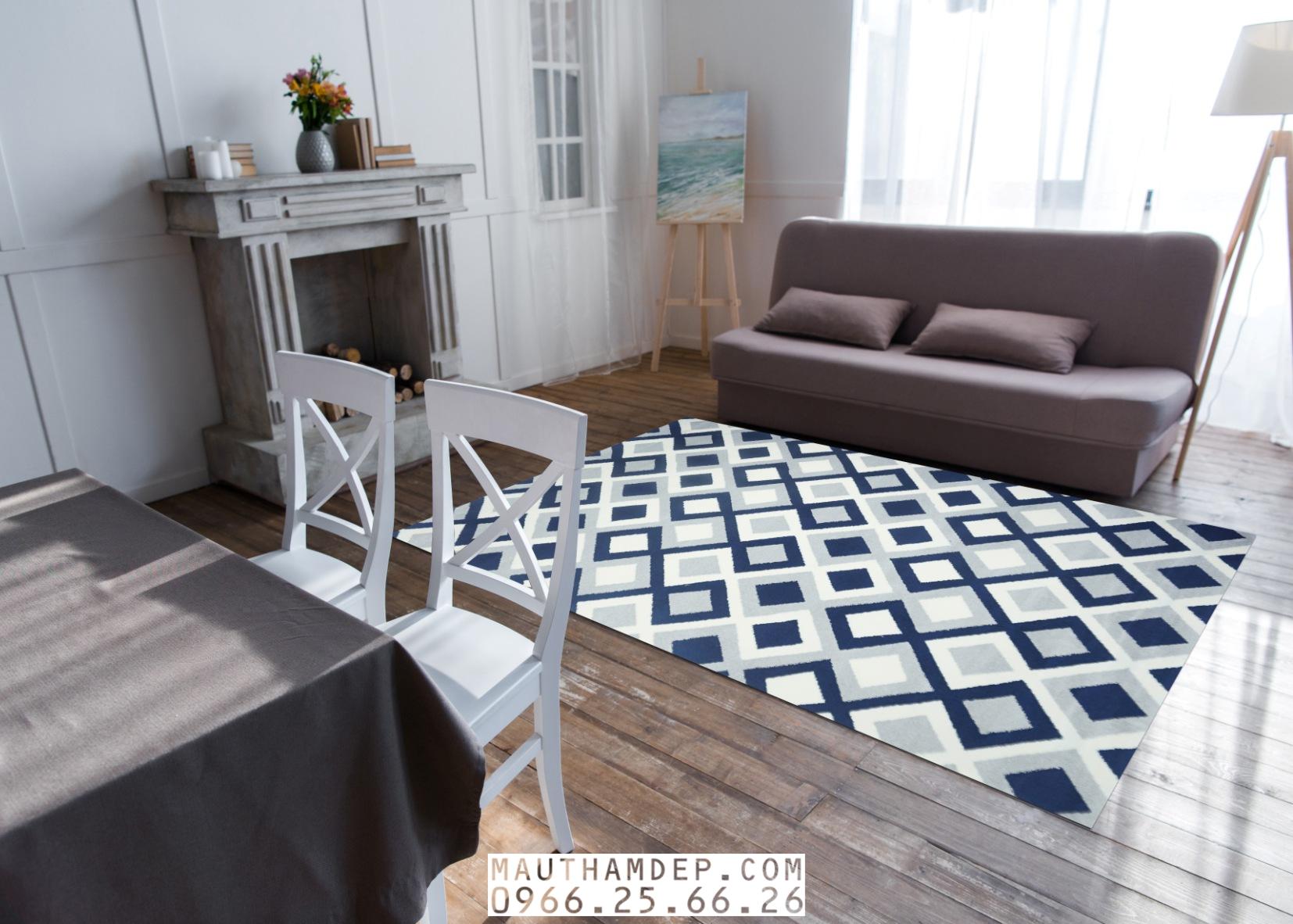Tổng đại lý Thảm trang trí - Thảm sofa nhập khẩu - M0008