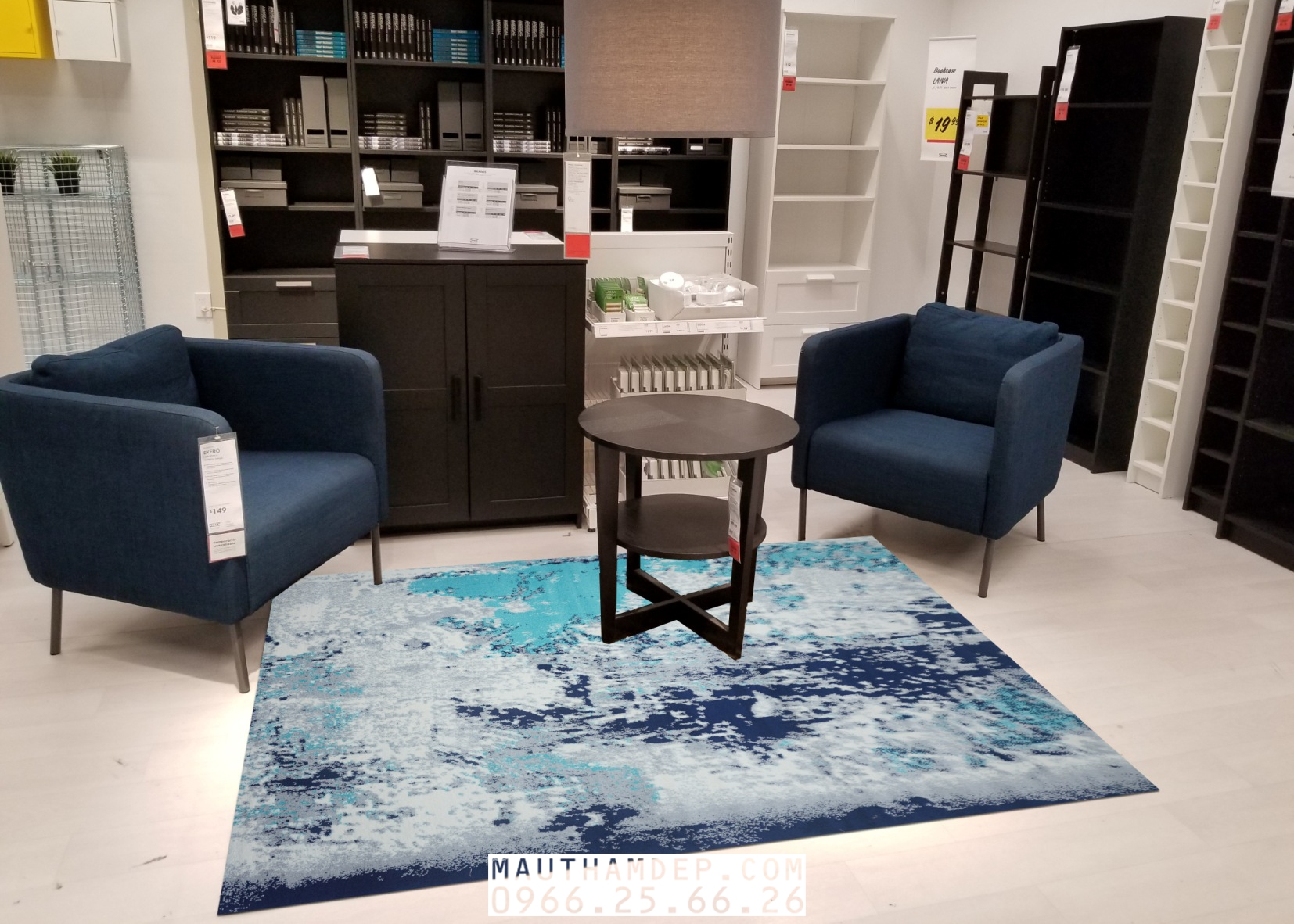 Tổng đại lý Thảm trang trí - Thảm sofa nhập khẩu - M0009