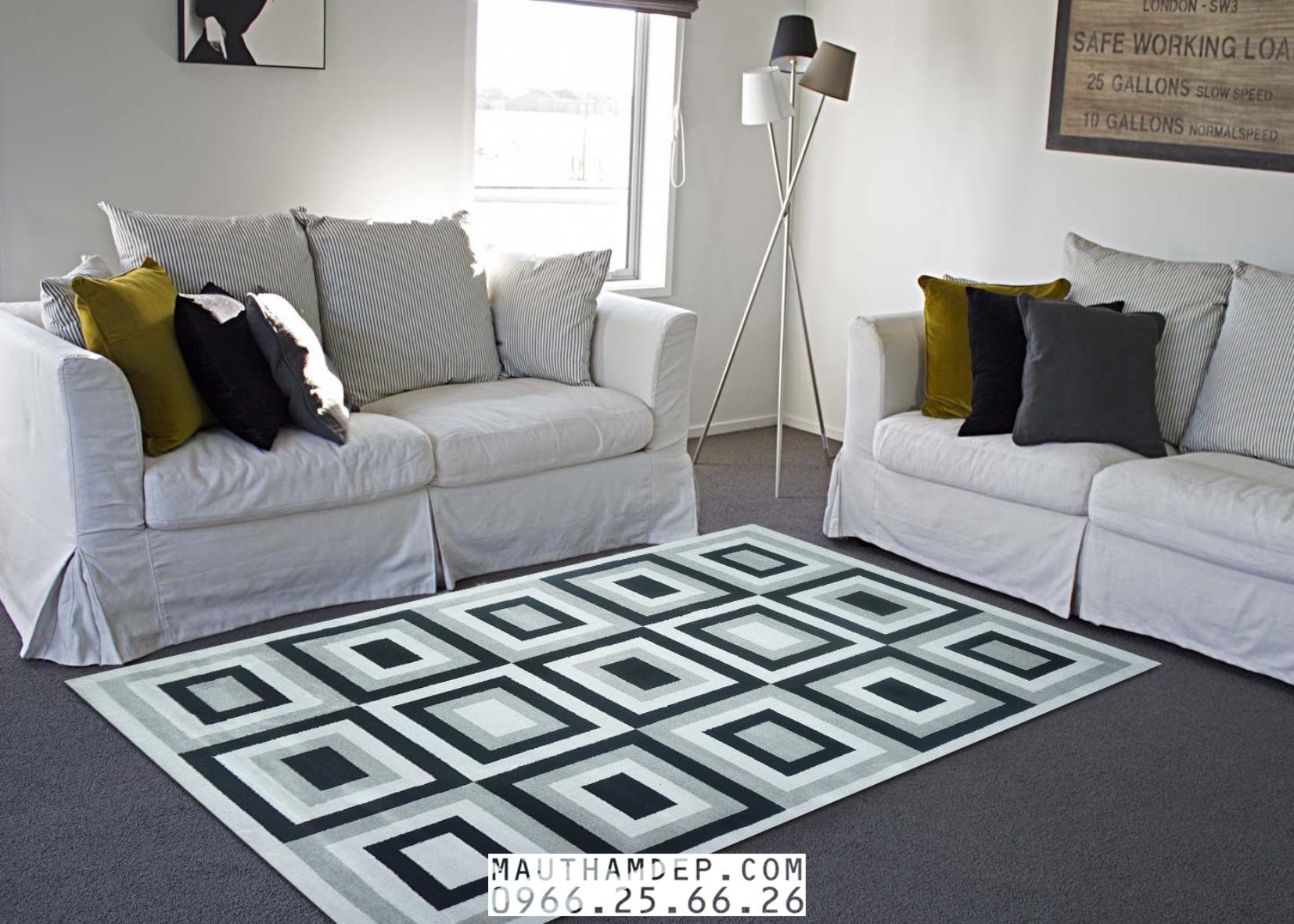 Tổng đại lý Thảm trang trí - Thảm sofa nhập khẩu - M0010