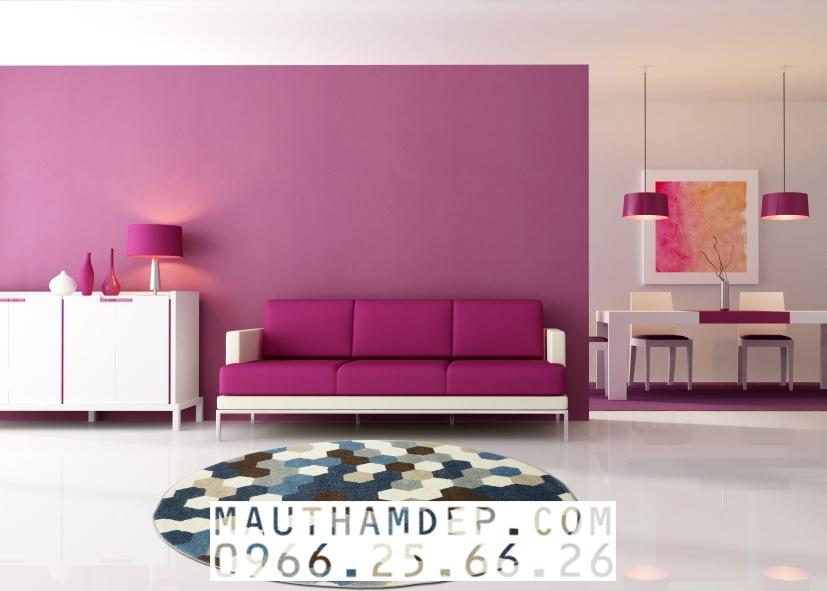 Tổng đại lý Thảm trang trí - Thảm sofa nhập khẩu - C0005R