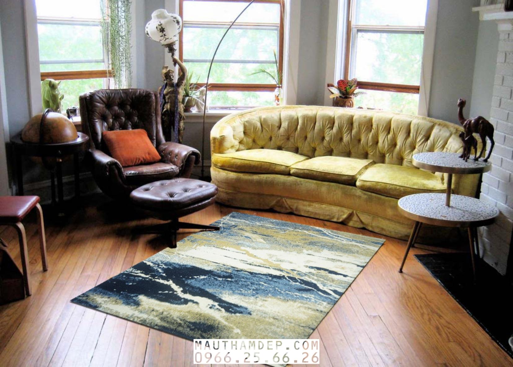 Tổng đại lý Thảm trang trí - Thảm sofa nhập khẩu - C0011