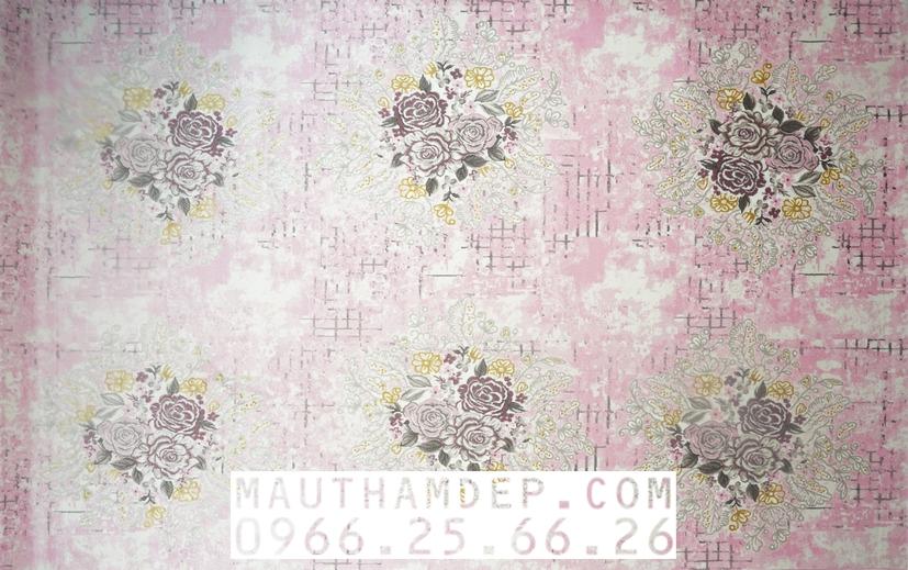 Tổng đại lý Thảm trang trí - Thảm sofa nhập khẩu - CARLA_Z9121_LPINK_LPINK