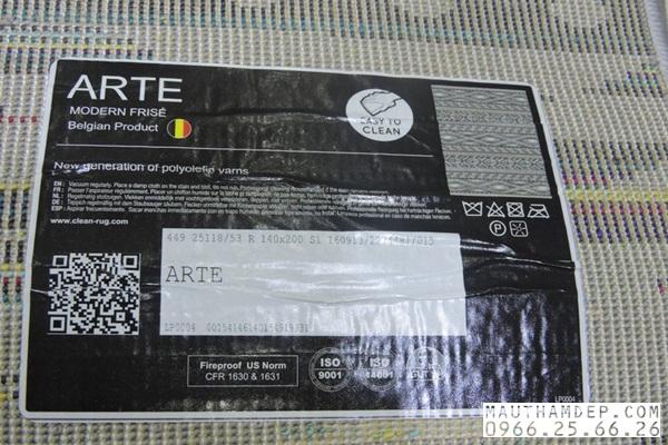 Thảm trang trí arte 25118053- 6