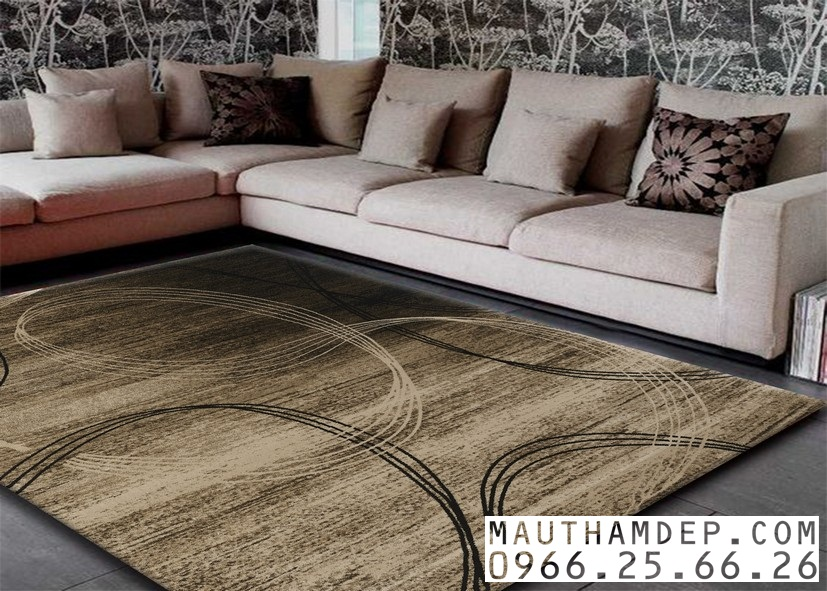 Tổng đại lý Thảm trang trí - Thảm sofa nhập khẩu - Sản phẩm thảm D0021