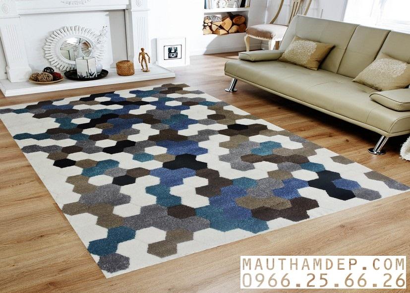 Tổng đại lý Thảm trang trí - Thảm sofa nhập khẩu - Sản phẩm thảm C0005
