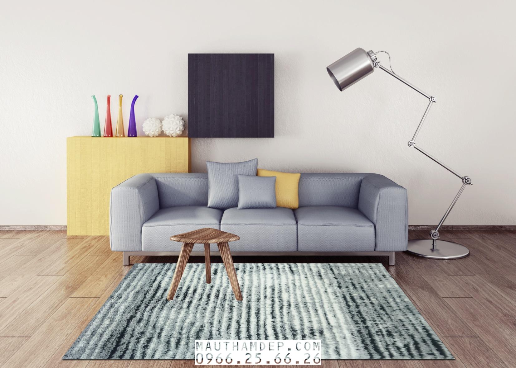 Tổng đại lý Thảm trang trí - Thảm sofa nhập khẩu - E0002