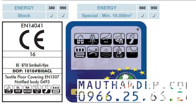Thảm trang trí ENERGY_380SS- 3