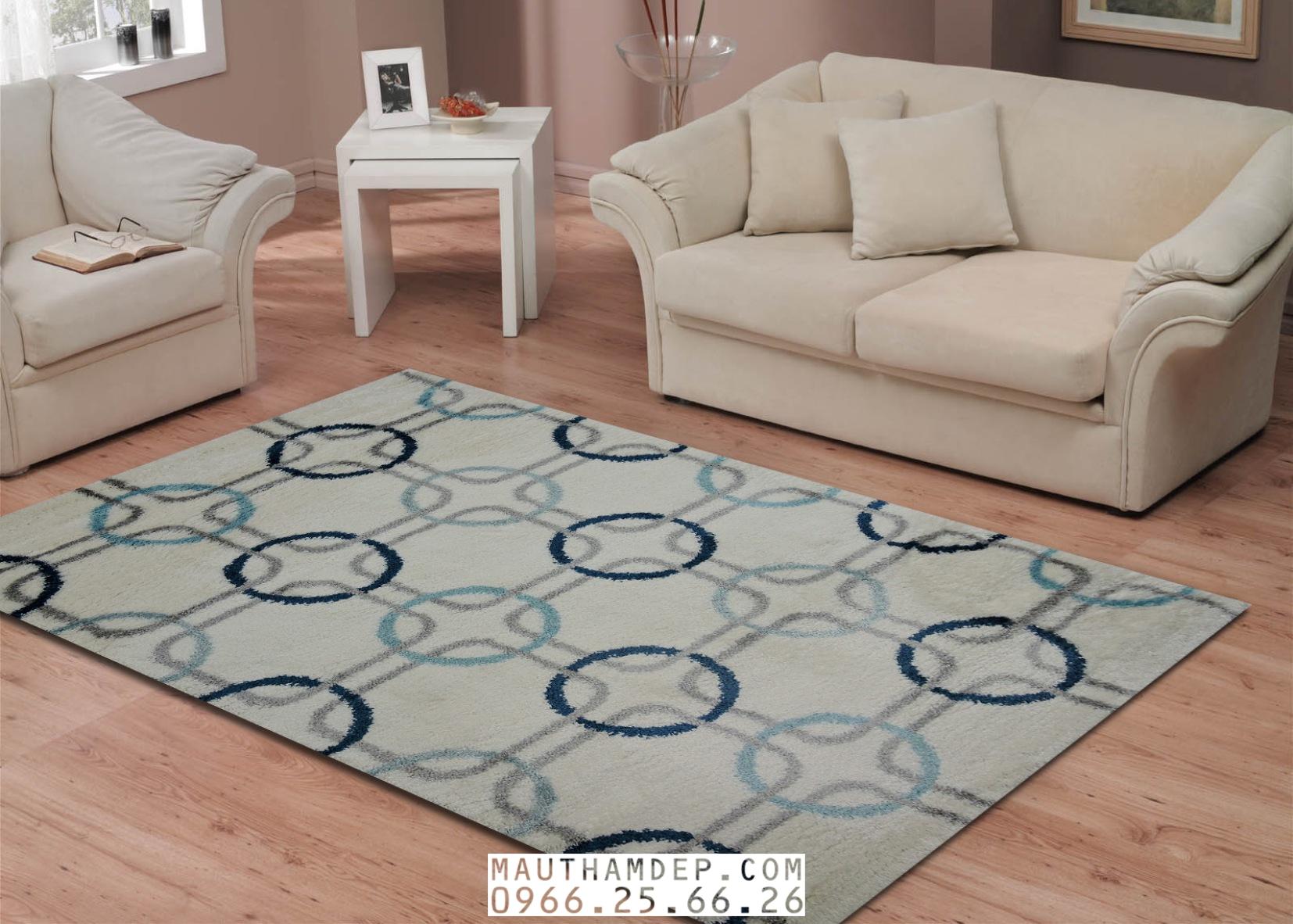 Tổng đại lý Thảm trang trí - Thảm sofa nhập khẩu - F0002