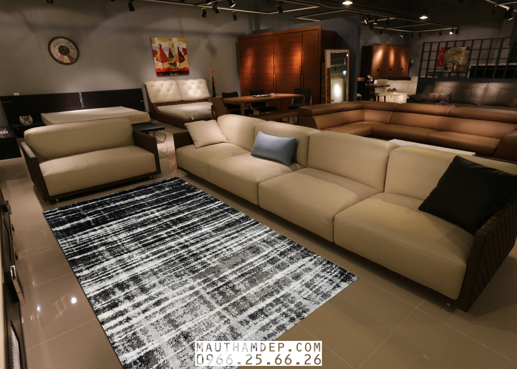 Tổng đại lý Thảm trang trí - Thảm sofa nhập khẩu - F0003