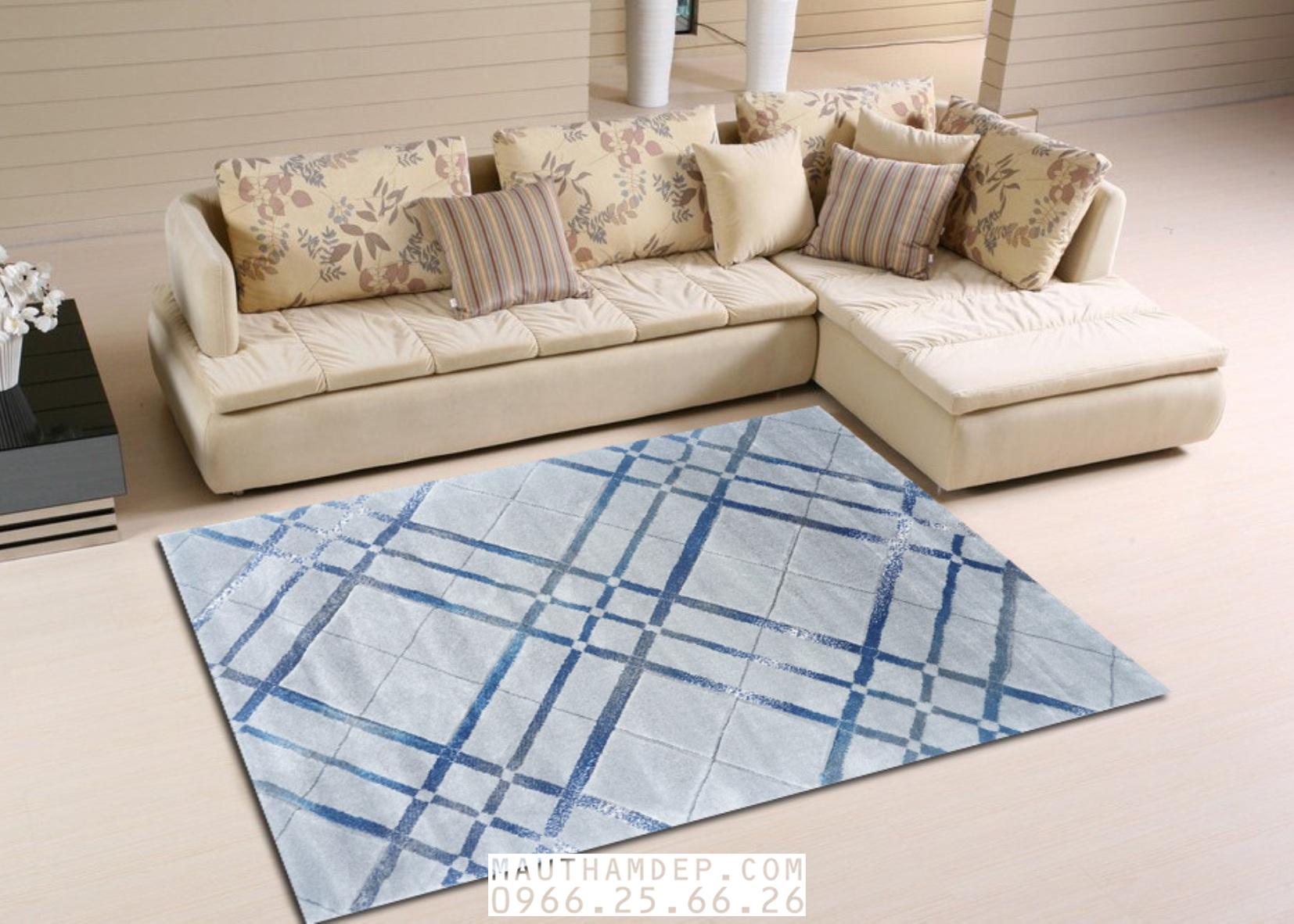 Tổng đại lý Thảm trang trí - Thảm sofa nhập khẩu - I0016