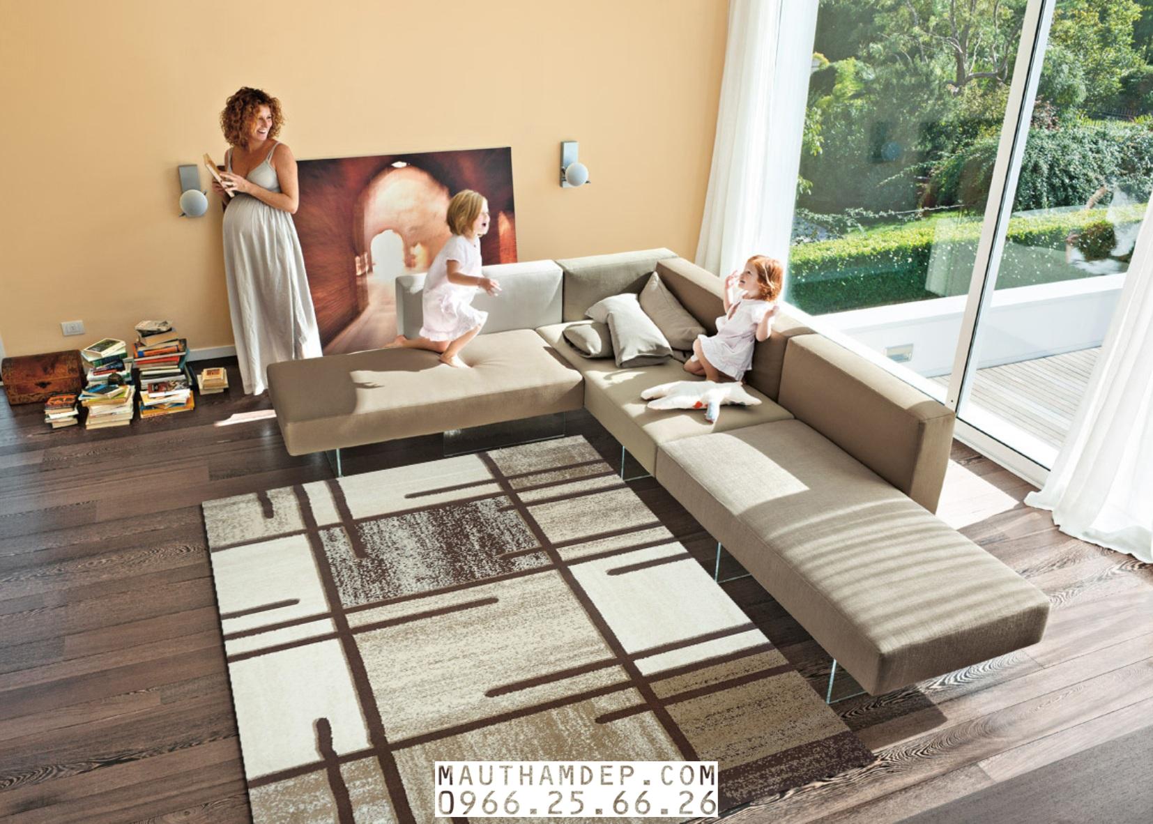 Tổng đại lý Thảm trang trí - Thảm sofa nhập khẩu - M0001