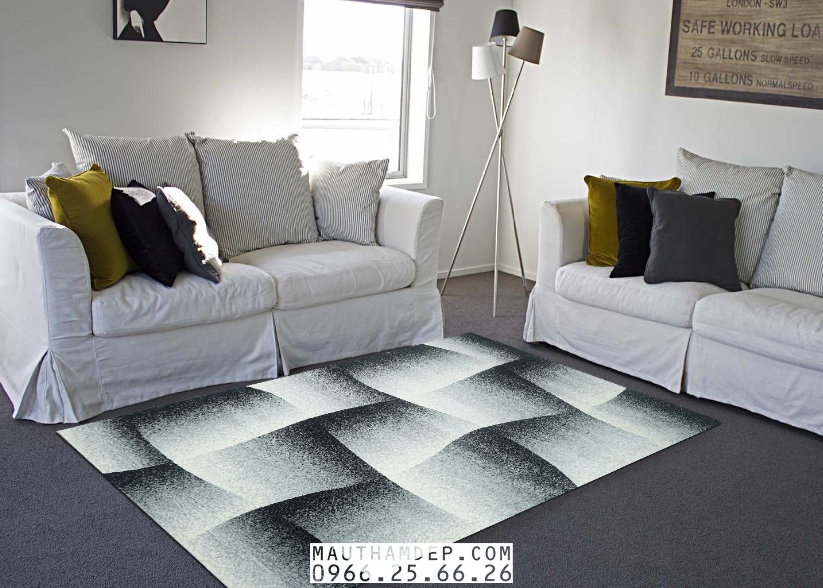 Tổng đại lý Thảm trang trí - Thảm sofa nhập khẩu - M0003