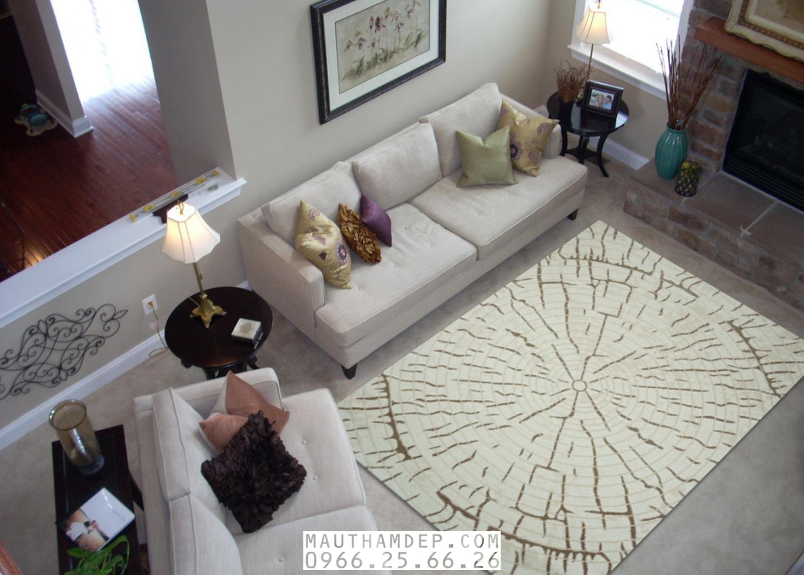 Tổng đại lý Thảm trang trí - Thảm sofa nhập khẩu - M0006