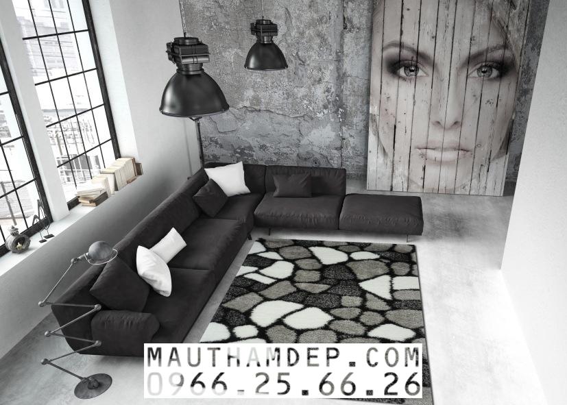Tổng đại lý Thảm trang trí - Thảm sofa nhập khẩu - S0033