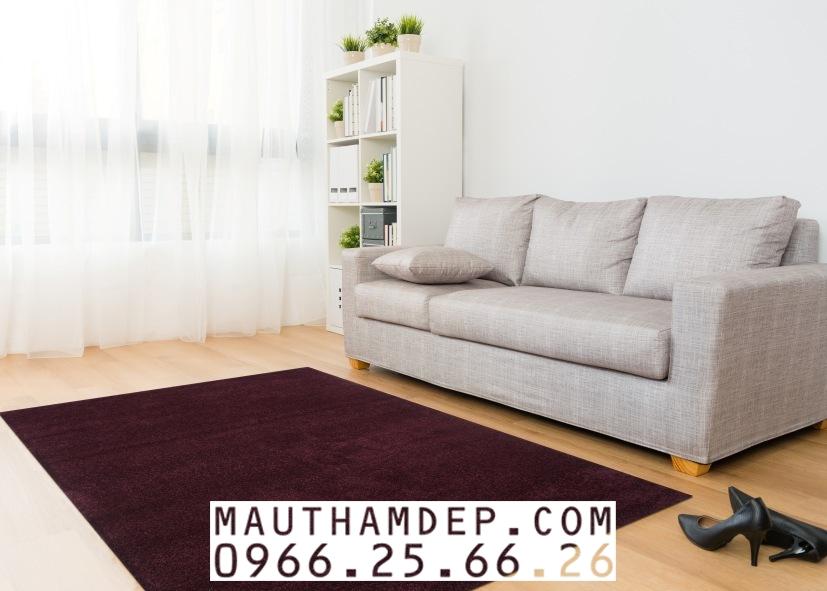 Mẫu thảm 1 mầu - Thảm Trang trí cho Sofa ĐẸP