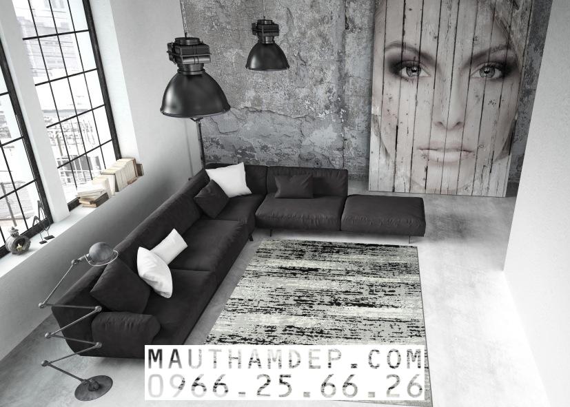 Tổng đại lý Thảm trang trí - Thảm sofa nhập khẩu - E0003