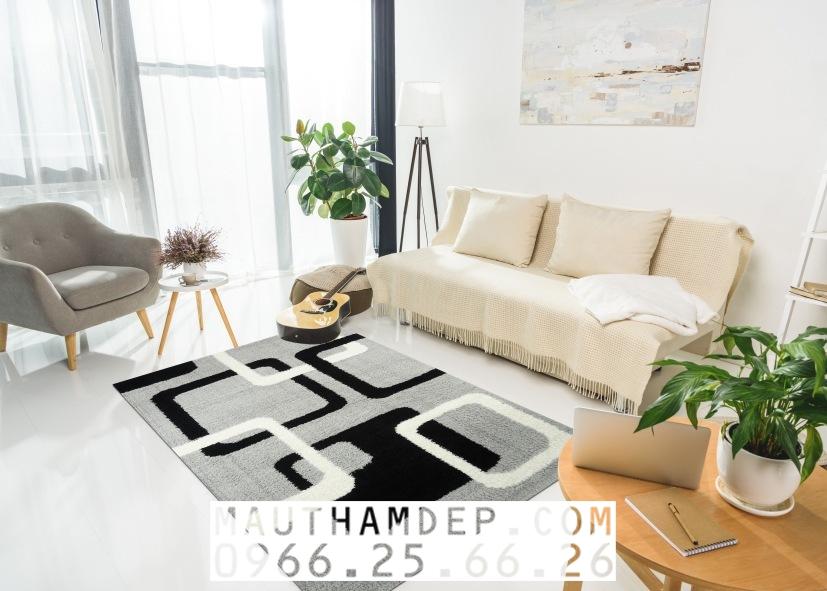 Tổng đại lý Thảm trang trí - Thảm sofa nhập khẩu - E0011