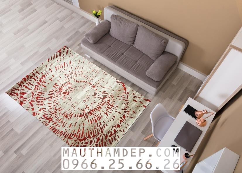 Thảm trang trí sofa 2 băng đẹp - Thảm SOFA Tân Uy Vũ
