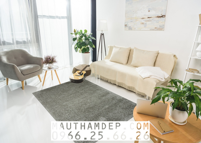 Sofa mầu lông chuột (mầu xám) hiện đại, trẻ trung, sạch