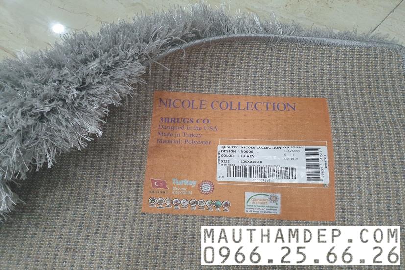 Phần đế thảm nhập khẩu được dệt trực tiếp từ sợi